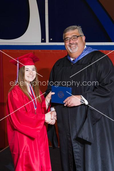 Whitko Class of 2018 Graduation Handshake