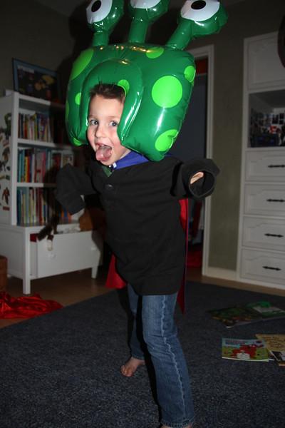 Crazy alien Max!