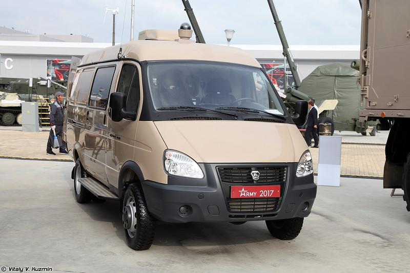 Машина биологической разведки МБР из состава комплекса МКА ПБА (MBR biological reconnaissance vehicle from MKA PBA system)