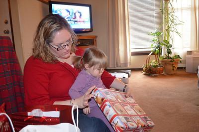 Penny/Alexander Christmas - Dec. 2012