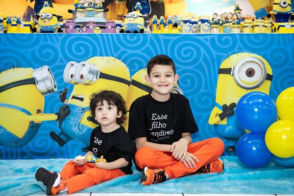 Aniversário Luiz Felipe e Antônio - Minions
