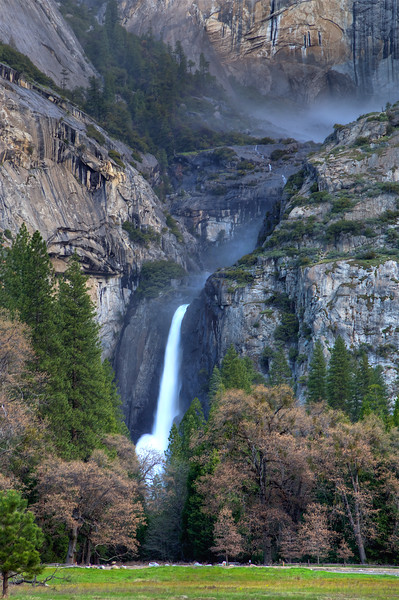YOS-180426-0002 Lower Yosemite Falls
