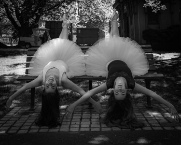 Nicole & Julianne Dance Portraits