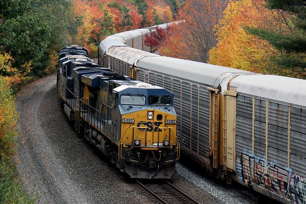 2009 New England Railroading