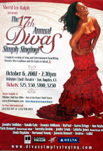 SHERYL LEE RALPH'S 17TH ANNUAL DIVAS SIMPLY SINGING