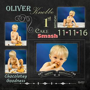 Oliver Knobbe 1st Birthday