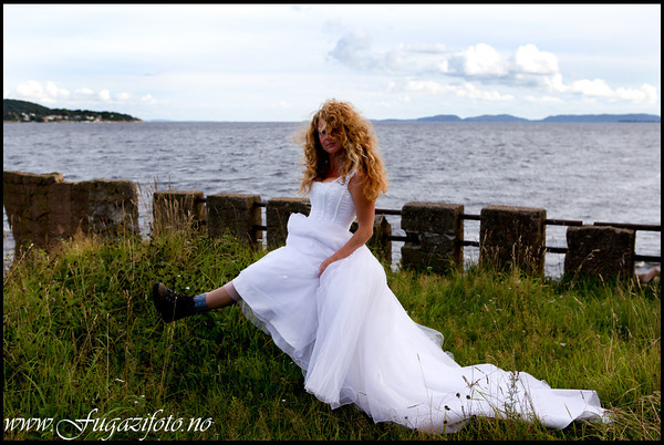 Just for fun - Trash the dress!