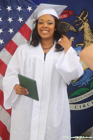 Troi Simone - Graduation Ceremony