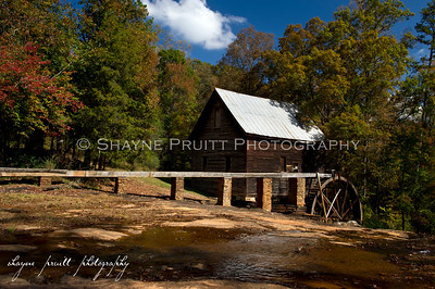 Ragsdale Grist Mill in Homer, Georgia