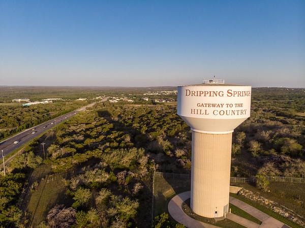 Dripping Springs Aerial