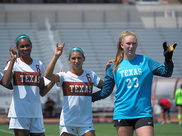 University of Texas Soccer vs. Northeastern 9.10.2017