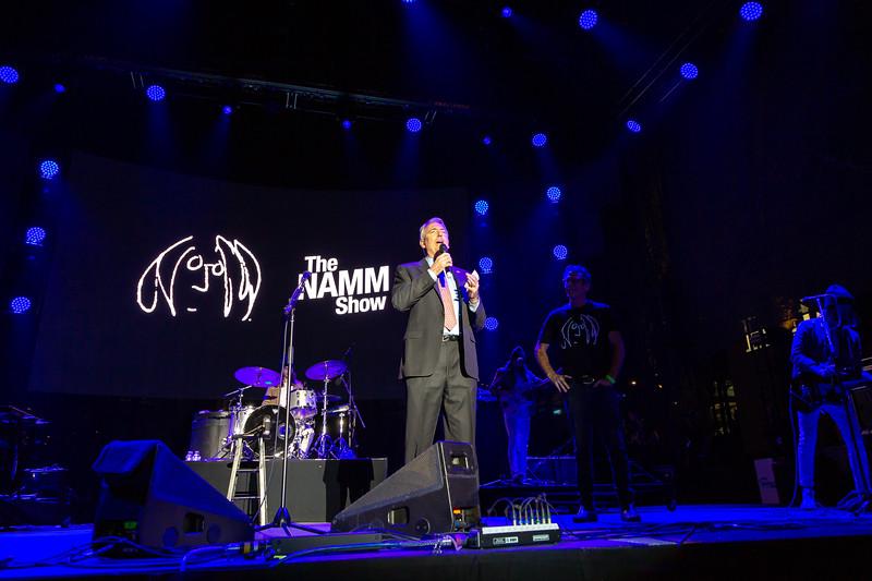 2019_01_26, Anaheim, CA, Imagine Party, NAMM, Brian Rothschild, Joe Lamond