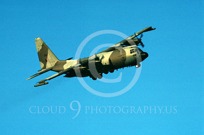 C-130Forg 00112 Lockheed C-130 Hercules British RAF November 1989 by Peter J Mancus.JPG