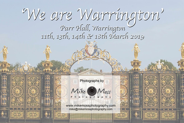We are Warrington - Parr Hall March 2019