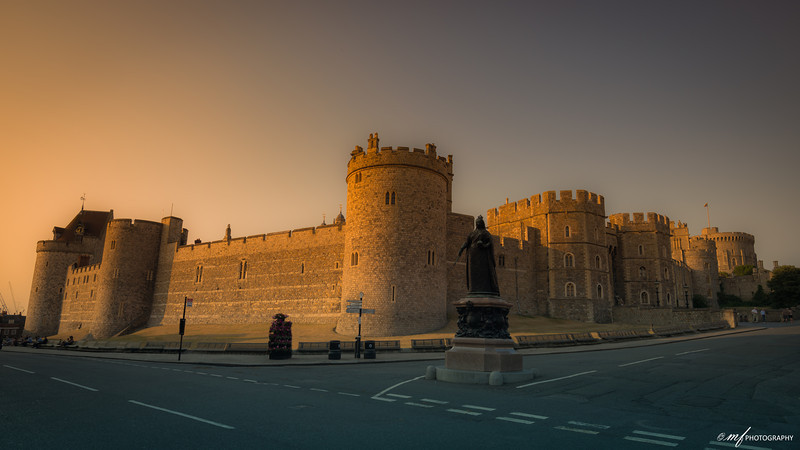 A long walk at Windsor