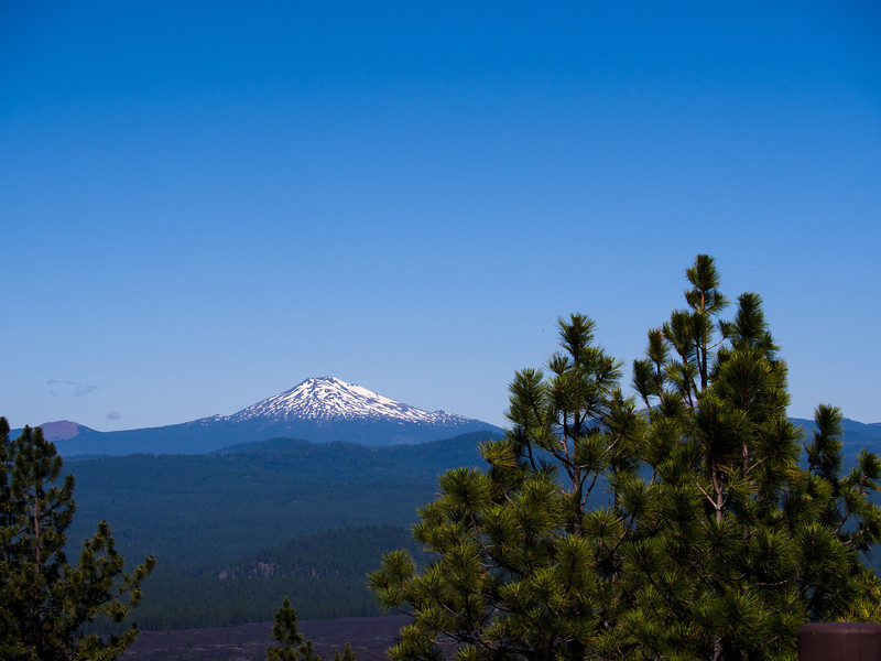 Mt Bachelor in the distance