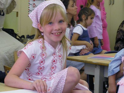 Leah's Last Day of School and Misc June 2005