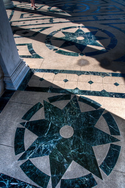 I thought the marble floors by the neptune pool were neat so I snapped a picture of them!