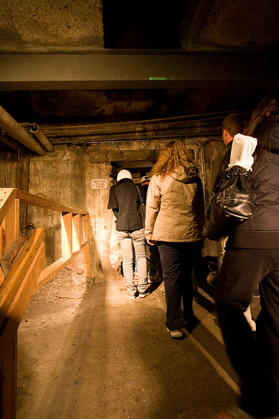 We got to roam the subterranean passages that once were the main roadways and first-floor storefronts of old downtown Seattle.