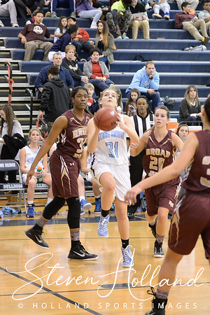 Girls Basketball - Varsity: Stone Bridge vs Broad Run 01.30.2015 (by Steven Holland)