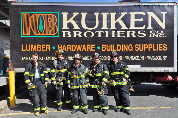 4-15-12 Midland Park, NJ NWBMA Drill: 145 Lake Avenue, Kuiken Brothers