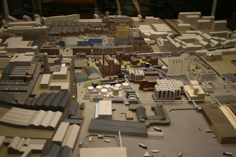 Model of the Guinness Brewery, St James Gate, 1987