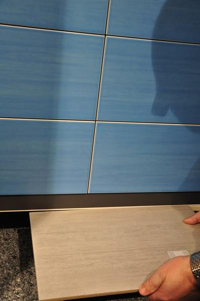 Wand- und Bodenfliese zusammen