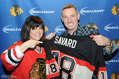 Blackhawks Viewing Party with Dennis Savard