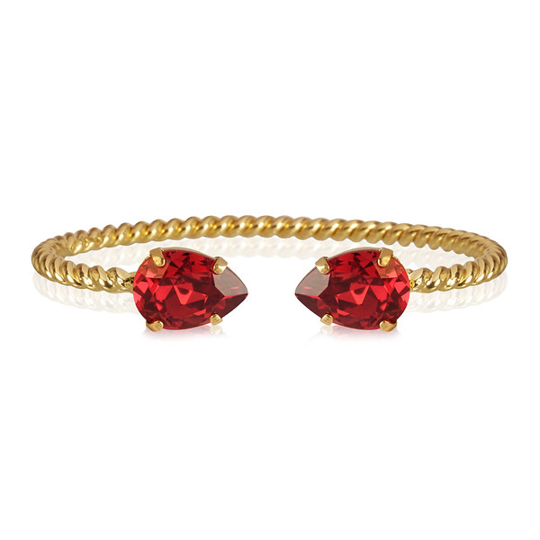 Mini Drop Bracelet / Scarlet Gold