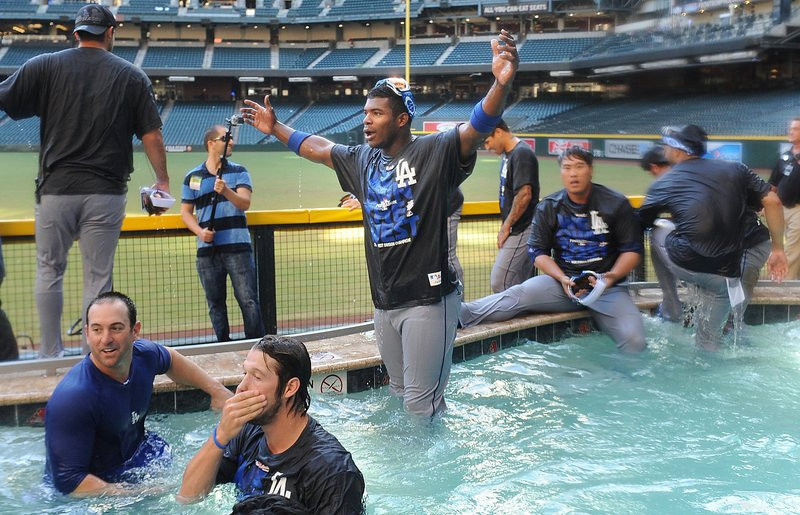 """. <p>5. LOS ANGELES DODGERS  <p>We think it was Confucius who said, and we paraphrase, if you don�t want teams celebrating in your ballpark hot tub, then don�t put a hot tub in your ballpark. (unranked) <p><b><a href=\'http://espn.go.com/los-angeles/mlb/story/_/id/9698917/john-mccain-strong-critic-dodgers-pool-celebration\' target=\""""_blank\""""> HUH?</a></b> <p>    (Wally Skalij/Los Angeles Times/MCT)"""