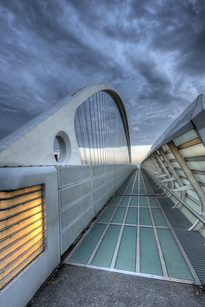 Vele di Calatrava, Central Bridge - Reggio Emilia, Italy - October 14, 2012