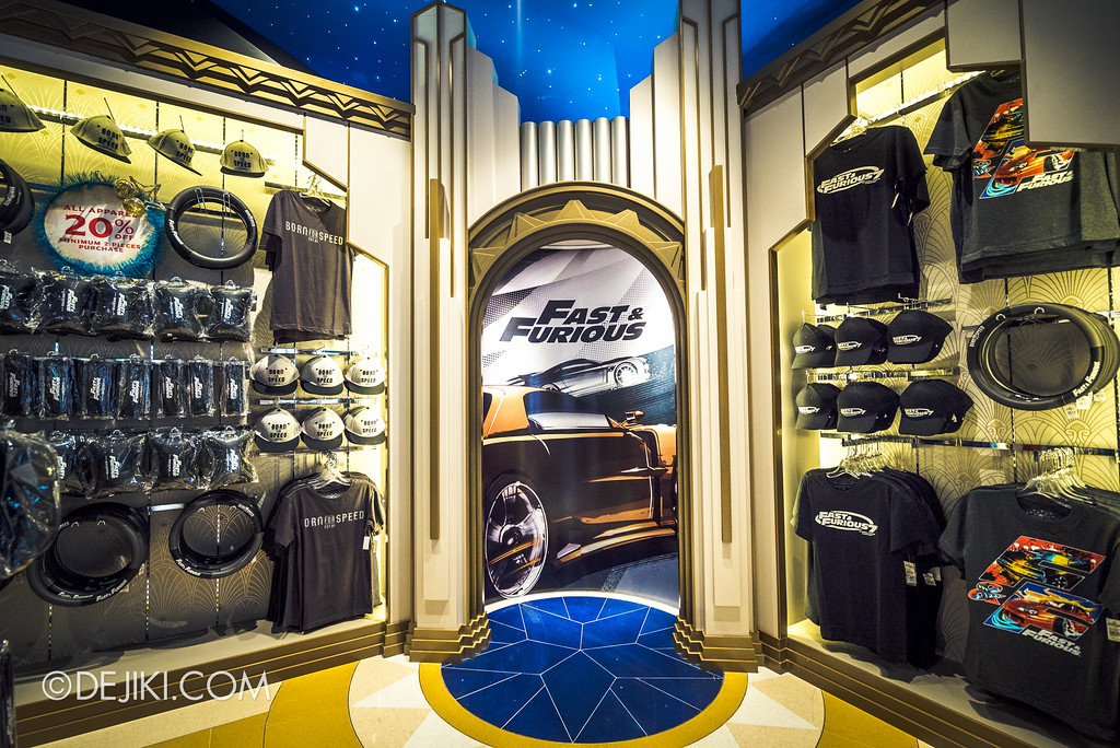 Universal Studios Singapore - Silver Screen Store - Fast & Furious collection
