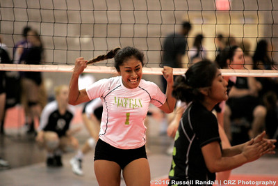 2016 Volleyball Festival Action