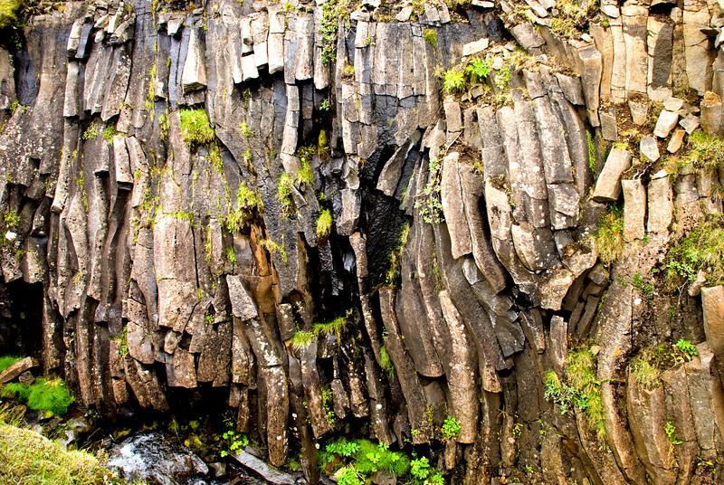 Stuðlabergið við Hólaskjól