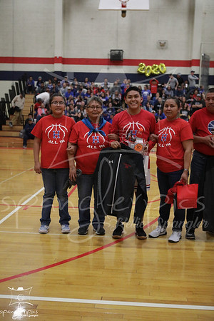 20200207 HHS Winter Sports Senior Night