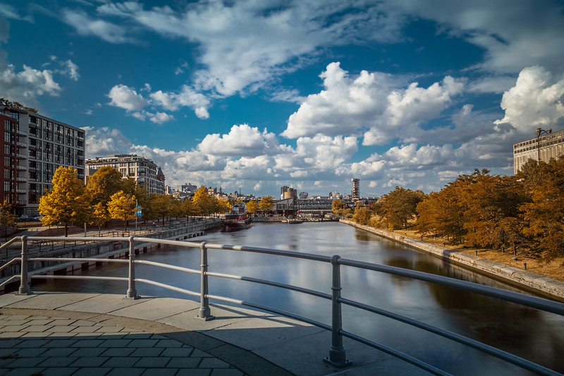 Travel Photography Blog - Canada. Montreal. Old Port. Long Exposure Afternoon