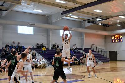 Almond Bancroft @ Barneveld Boys Basketball 2-8-20