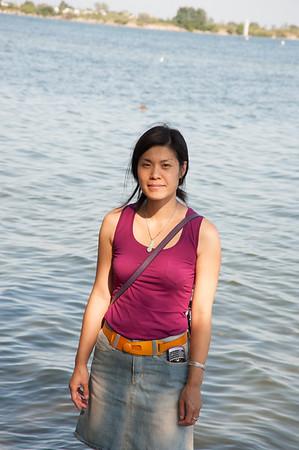 Stephanie at the Park