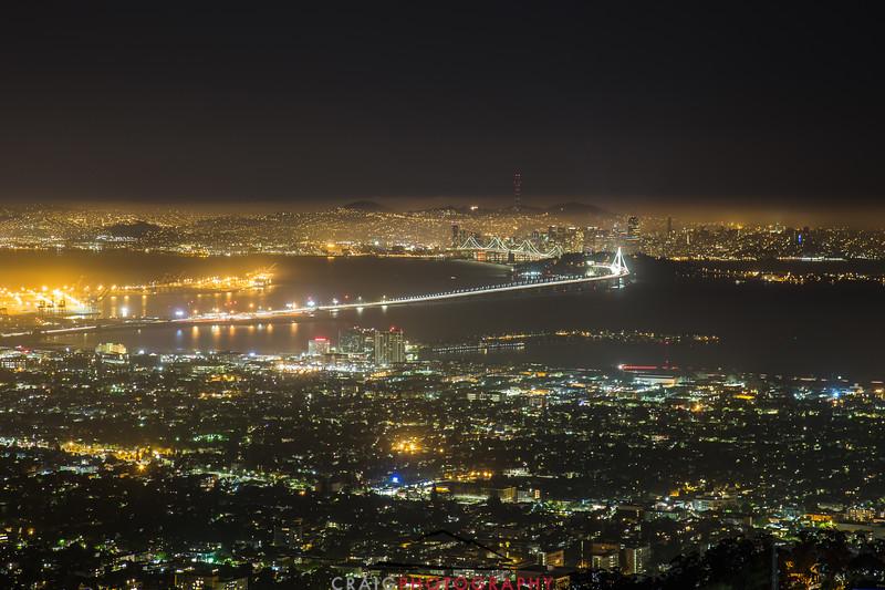 San Francisco, Oakland and the New Bay Bridge #2