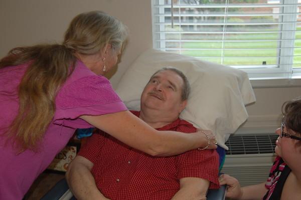 Memorial at Nursing home Gwen