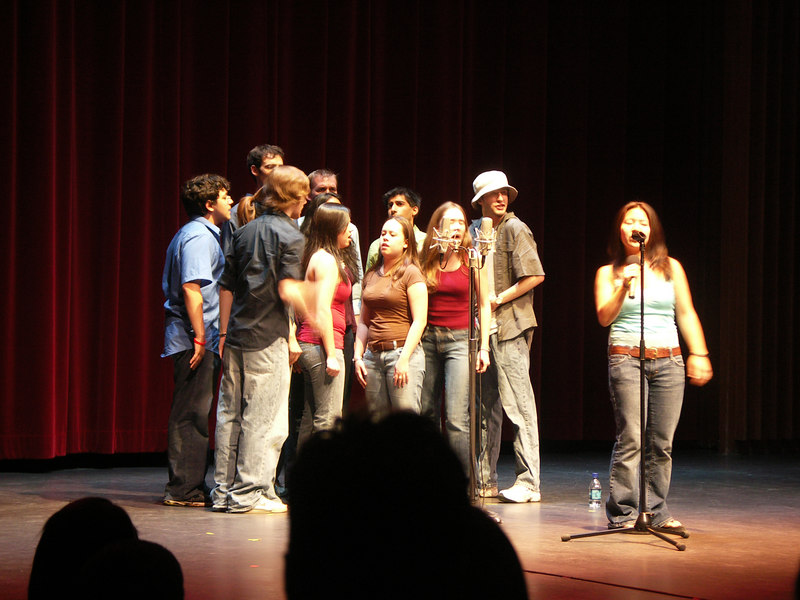MIT Resonance at Spring Sing, a cappella singing group
