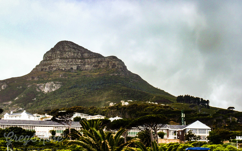 A different view of Table Mountain