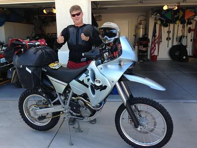 Belmont Nevada M2W ride July 2014