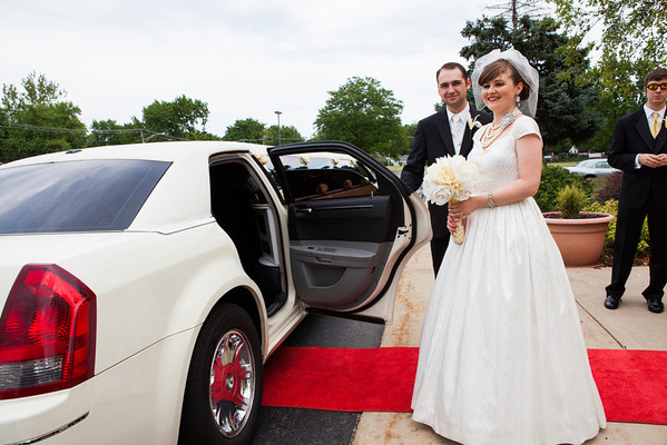 Chris and Karisa Wedding - Couple and Wedding Party