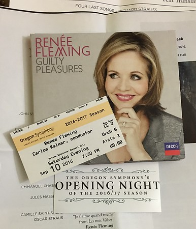 Renee Fleming meeting in Portland.