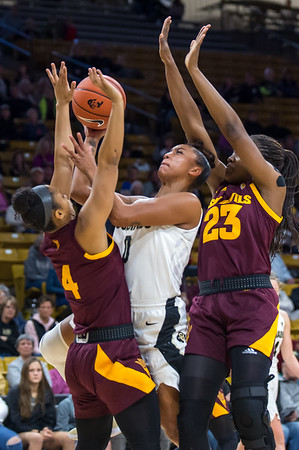 PAC12-Women's Basketball-CU vs Arizona State-20190107