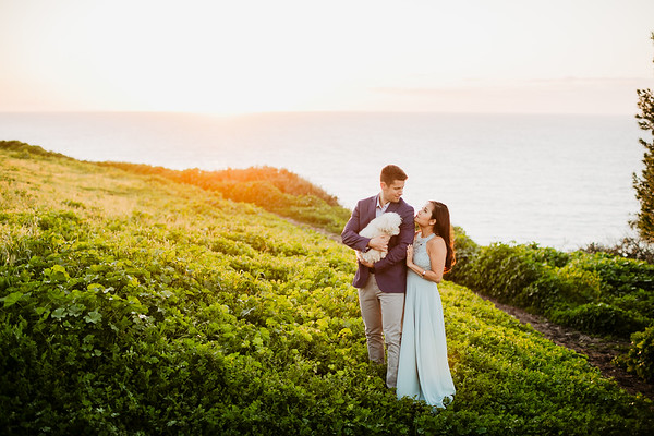 Mai and Oliver | Venice Beach | Palos Verdes Engagement