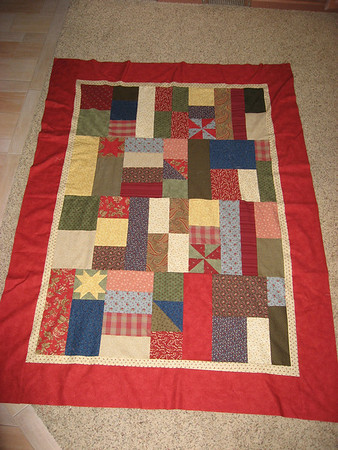 Chad Christmas Quilt 2007