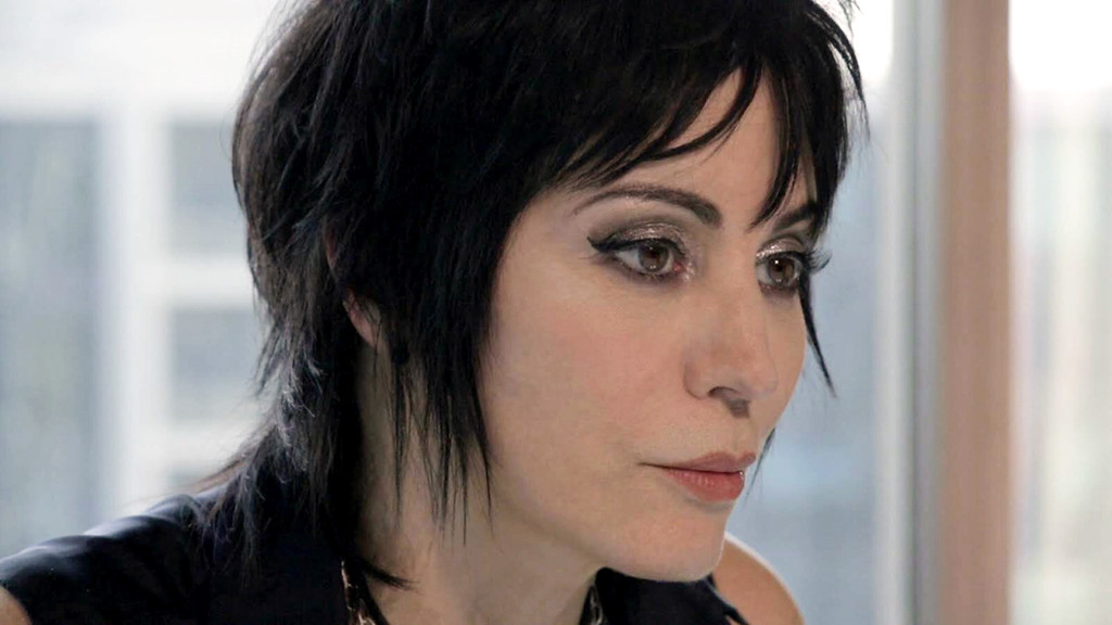 . Courtesy of Sundance Institute Joan Jett appears in �Bad Reputation,� a documentary screening April 6 (at the Rock & Roll Hall of Fame and Museum and April 7 and 8 at Tower City Cinemas.