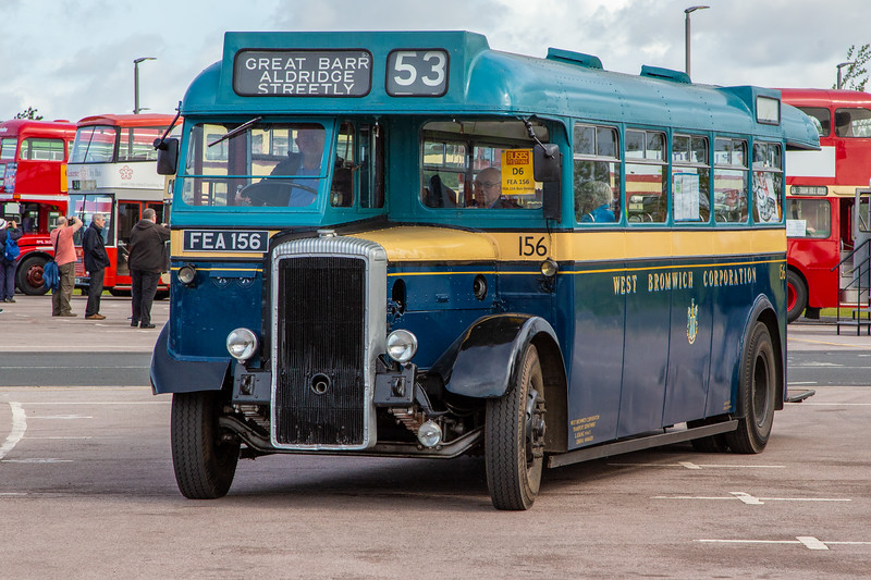 1952 Daimler CVG5 with Metro-Cammell body